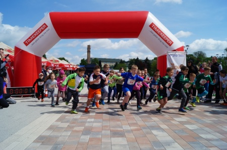 Najwięcej młodych biegaczy rywalizowało wkategorii od7 do9 lat