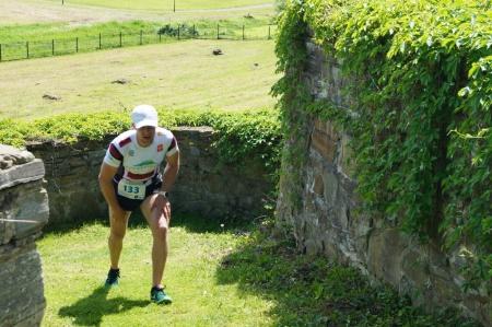 na trasie rywalizował m.in trialowiec, rekordzista świata Krystian Herba