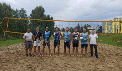 Kamil Warzocha iPiotr Groszek wygrali X Mistrzostwa Gminy Boguchwała wSiatkówce Plażowej Mężczyzn.