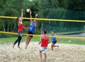 Bilski iKozłowski wygrali VI Mistrzostwa Gminy Boguchwała wSiatkówce Plażowej Mężczyzn.