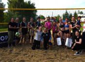 Mistrzynie poraz trzeci. Małgorzata Flaga iKatarzyna Niedziałek wygrały Mistrzostwa Gminy Boguchwała wSiatkówce Plażowej Kobiet.