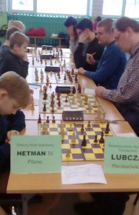 Lubcza rywalizowała wV lidze szachowej.