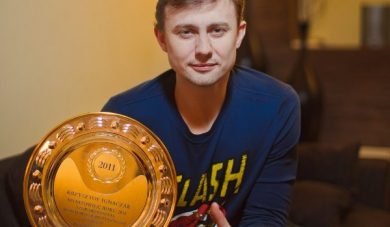 Krzysztof Ignaczak sportowcem roku 2011 Stowarzyszenia Lubcza!