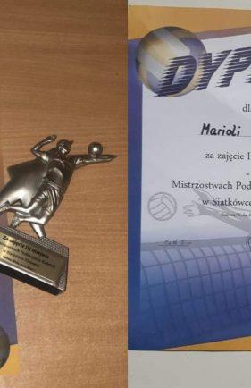 Medalowe pozycje siatkarek Lubczy wMłodzieżowych Mistrzostwach Podkarpacia wSiatkówce Plażowej.