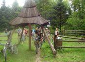 Rajd rowerowy poPogórzu Strzyżowskim 10 lipiec 2008