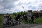 """Rajd rowerowy """"W poszukiwaniu Kurhanów""""- czerwiec 2009r."""